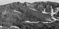 Rock Climbing Photo: The North Face of Mount Meeker, July 1 2015.
