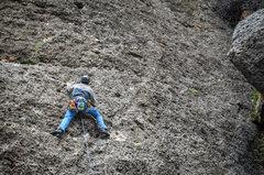 Rock Climbing Photo: Seems Like Old Times (5.8)