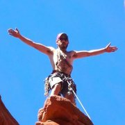 Rock Climbing Photo: Tippy top of Ancient Art