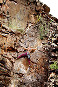 Rock Climbing Photo: Full Curl (5.10a).