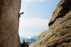 Rock Climbing Photo: Andrology (5.11d).