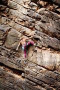 Rock Climbing Photo: Sam's Spam (5.9+).