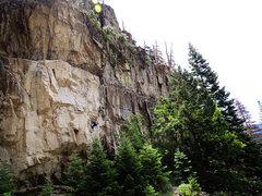 Rock Climbing Photo: Ze Boom Boom Room.