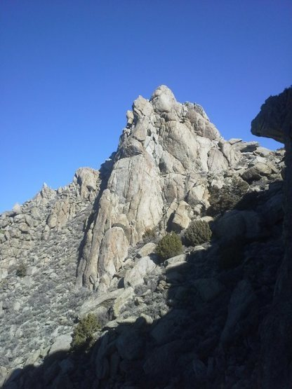 Rock Climbing Photo: The Obelisk  Egyptian Ridge, Selenite Range