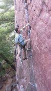 Rock Climbing Photo: Dan Dolan makin it look easy.