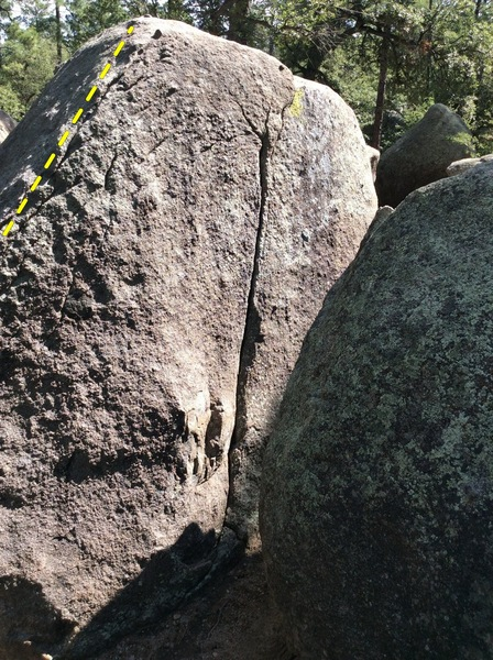 Rock Climbing Photo: Bugging Out, V0-