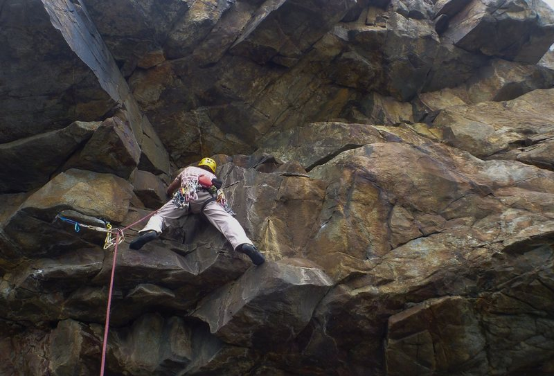 Josh on the first pitch of Melba.
