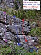 Rock Climbing Photo: Gaper's Gully