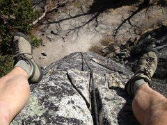 Rope Solo..Swans Slab..Yosemite