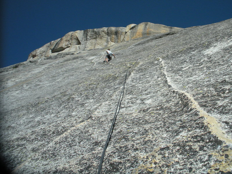 Rock Climbing Photo: Snake Dike  East Side Yosemite