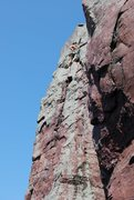Rock Climbing Photo: Brinton's on a hot summer day