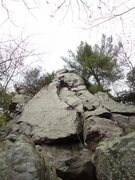 Rock Climbing Photo: You can see why they call it pork chop butress