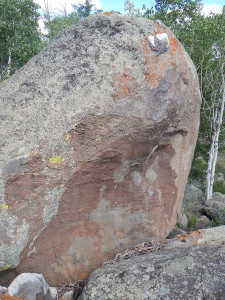 Rock Climbing Photo: The Crest Boulder