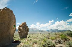 Rock Climbing Photo: Stone Crusade Boulders at Aeolian Buttes