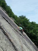 Rock Climbing Photo: 1st pitch of little Finger