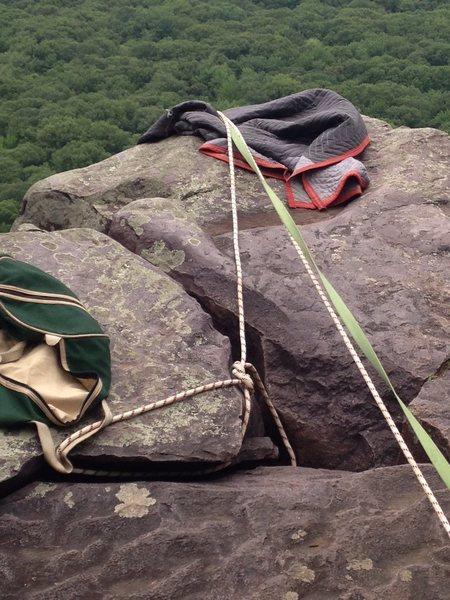 Rock Climbing Photo: TR.