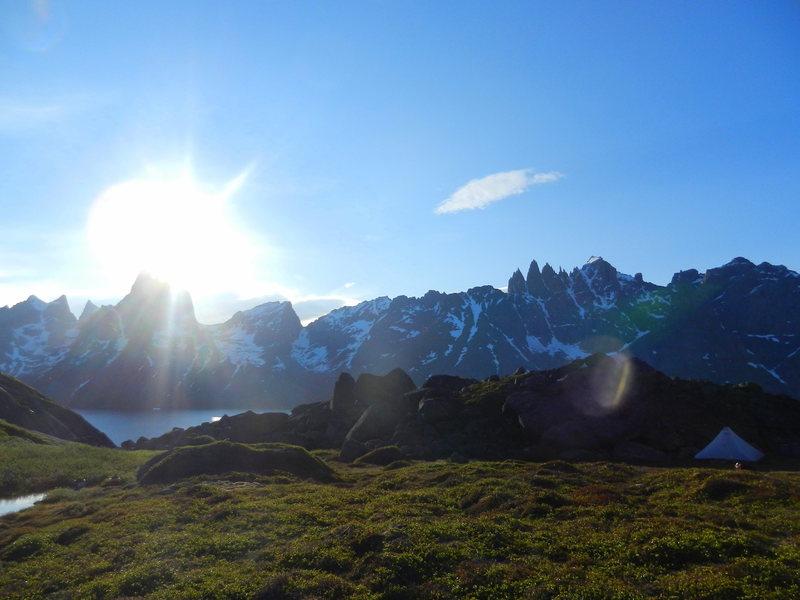 Rock Climbing Photo: Greenland!