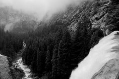 Rock Climbing Photo: Vernal Fall