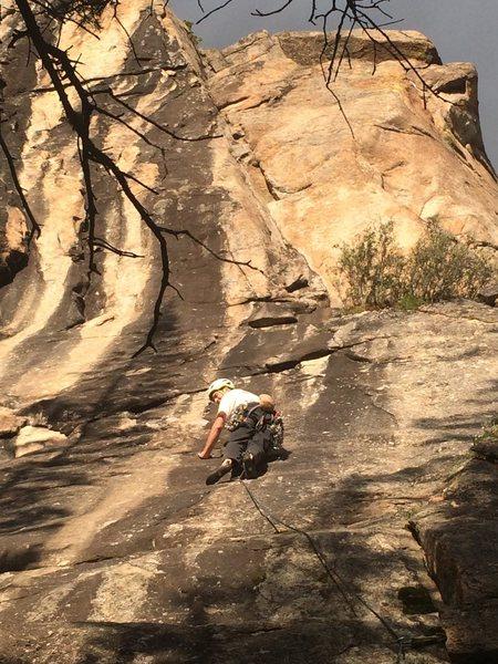 Rock Climbing Photo: Unnecessary Buffness