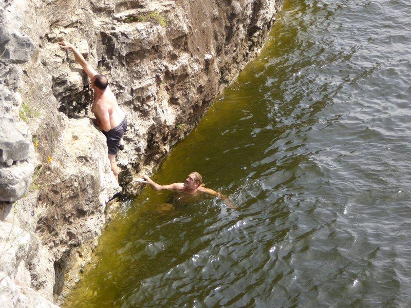 Rock Climbing Photo: Pace Bend