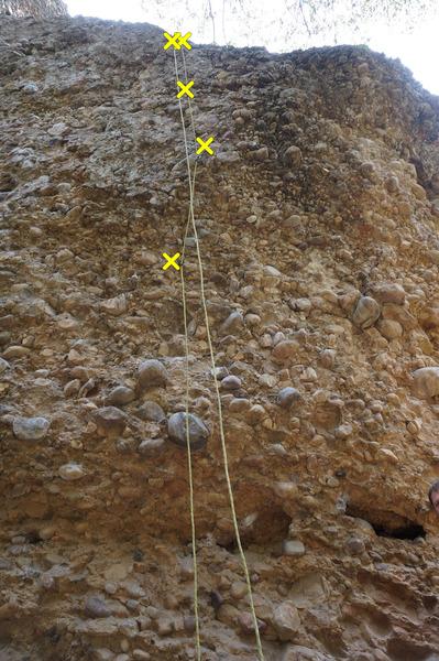 Rock Climbing Photo: Spray, 5.10a.
