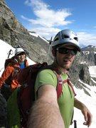 Rock Climbing Photo:  Brian's self shot Before Decker's Peck
