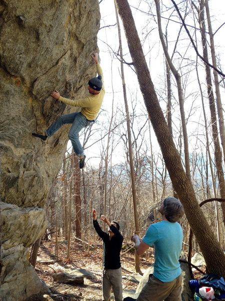 Rock Climbing Photo: Rumbling Bald