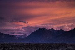 Rock Climbing Photo: Sunset storm