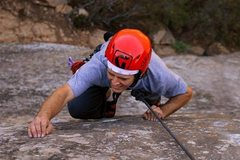 Rock Climbing Photo: Climbing at Lower San Ysidro Wall in Santa Barbara...