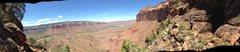 Rock Climbing Photo: Traversing about 700 ft. below the top.