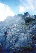 Rock Climbing Photo: Nearing the top?