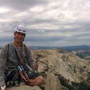 Rock Climbing Photo: My first trad climb