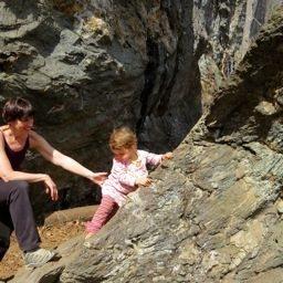 Rock Climbing Photo: Ella at Rumney