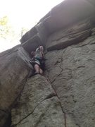 "Rock Climbing Photo: Orphan, perhaps squamish ""hardest"" 5.8, ..."