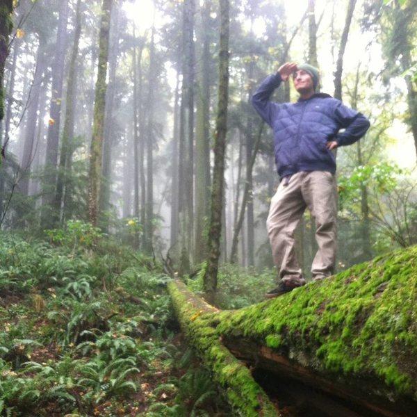 Rock Climbing Photo: profile shot