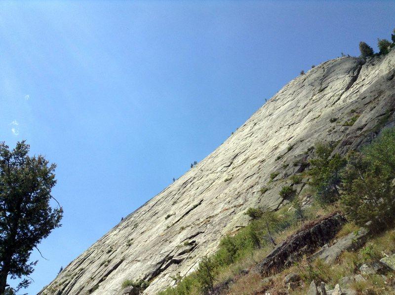 Rock Climbing Photo: A sea of granite!