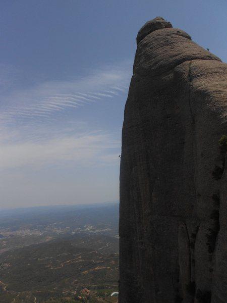 Rock Climbing Photo: Aresta GAM del Bisbe (Frares)