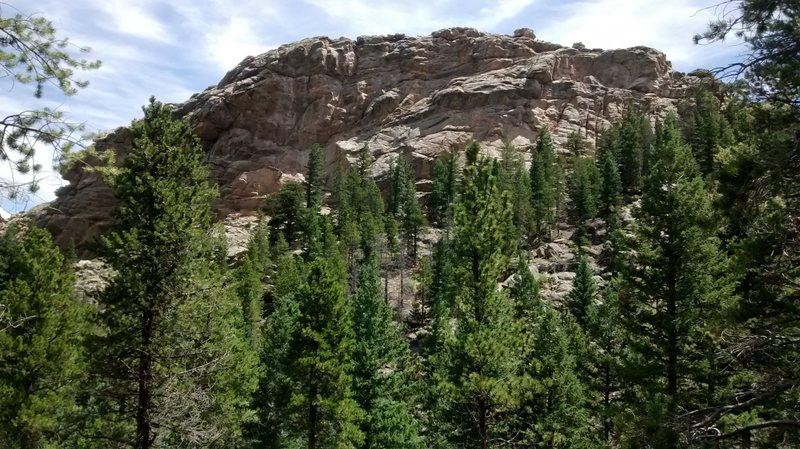 Rock Climbing Photo: The Scoop in better lighting.