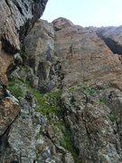 Rock Climbing Photo: Wisdom 5.9