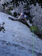 Rock Climbing Photo: starting off on first pitch of the grip ! First no...