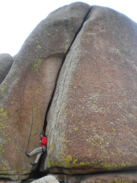 Rock Climbing Photo: Onsighted this beautiful line!