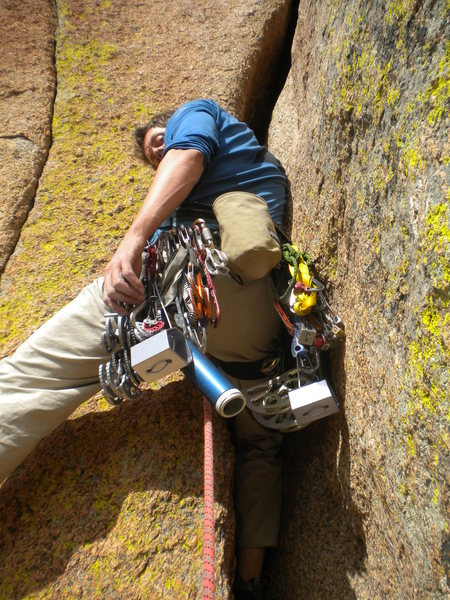 Rock Climbing Photo: What are you lookin' at?