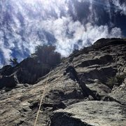 Rock Climbing Photo: Gabriel on Ant Jemima, above the first crux or wha...