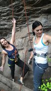 Rock Climbing Photo: ...After my first climb!