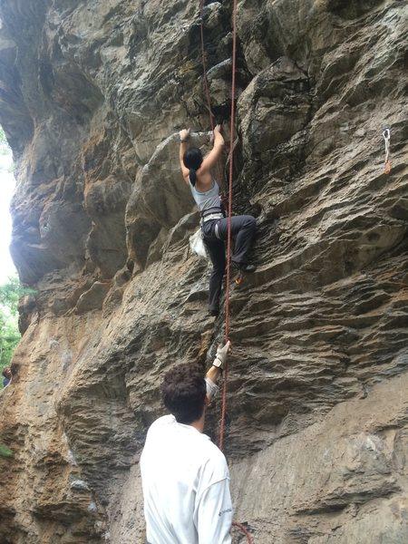 Rock Climbing Photo: Nicole Banks