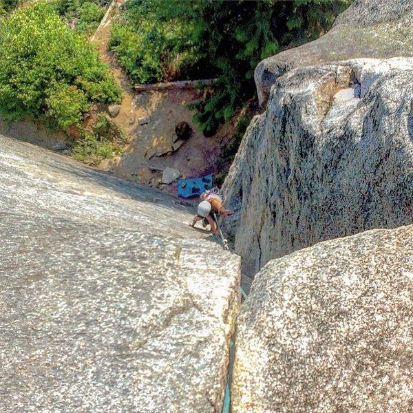 Rock Climbing Photo: Jess on WDA