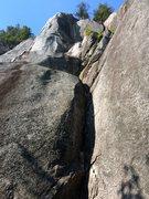 Rock Climbing Photo: Up, Up, and Away