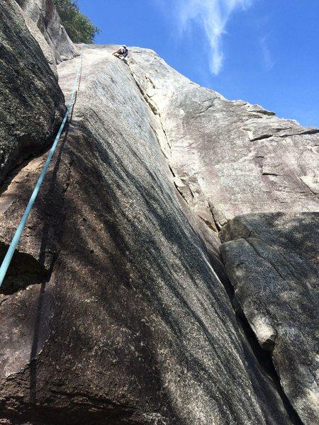 Jess up high on Quarryman