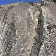 Rock Climbing Photo: Picket Line