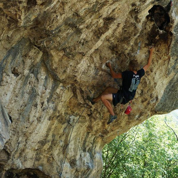 Beautiful climb